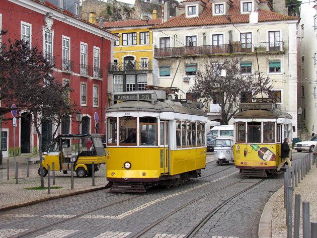 rit met tram 28