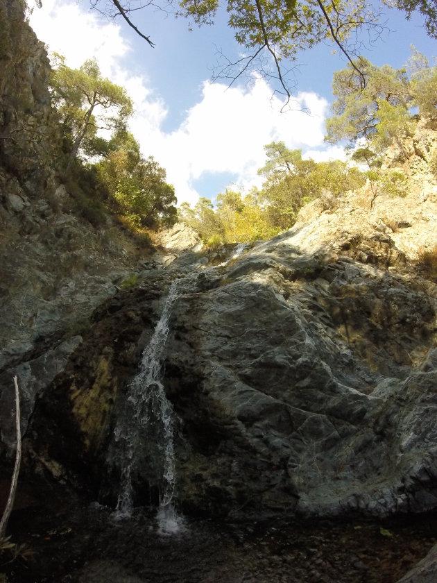 Chantara watervallen: een wandeling into nowhere