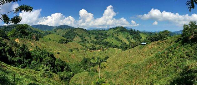 Landelijk wonen panorama