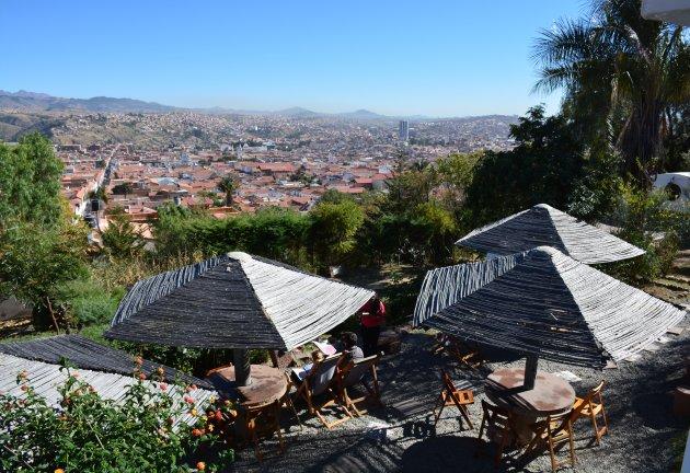 Terrasje pakken in Sucre