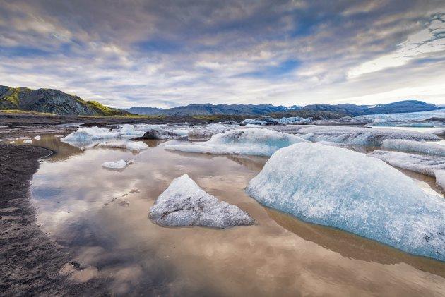 Hoffellsjökull Zuid-Oost IJsland