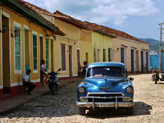 Oldschool taxi Trinidad