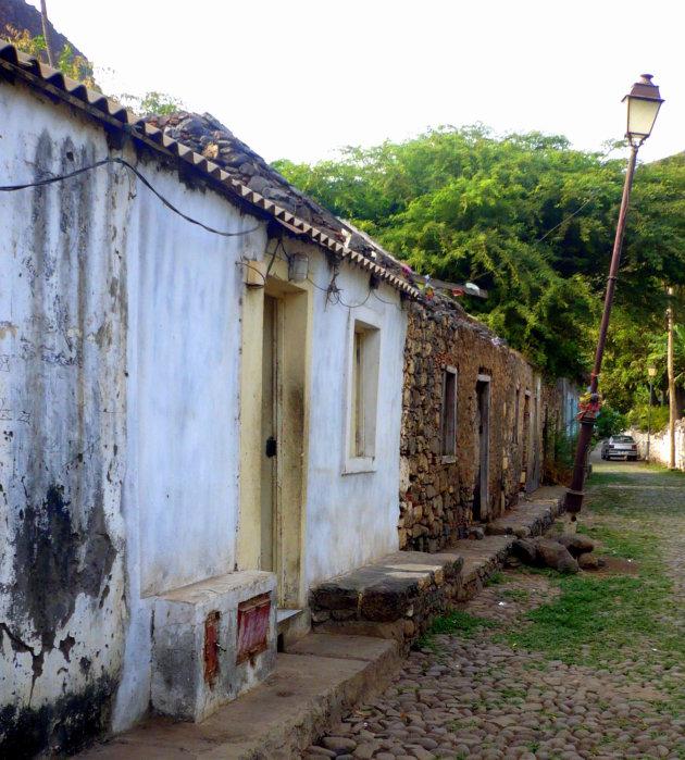 De oude nederzetting Cidades Velha
