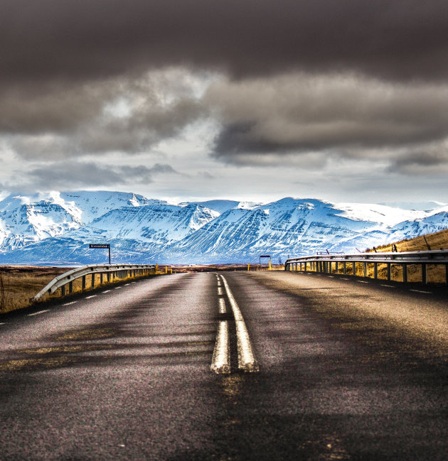 Op weg naar Akureyri