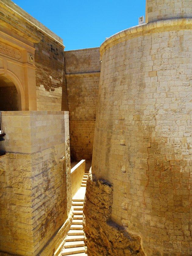 Citadel van Rabat op Gozo