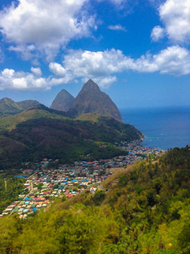 Pitons van Saint Lucia