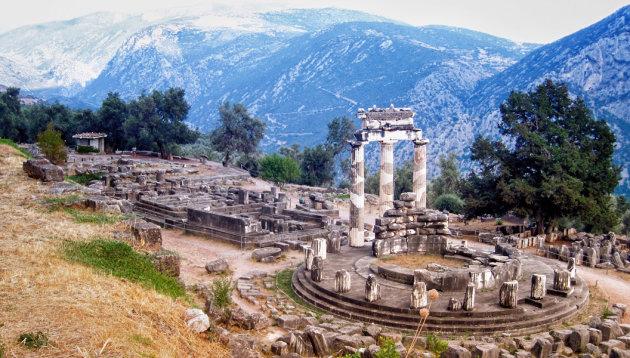 Op zoek naar het Orakel van Delphi