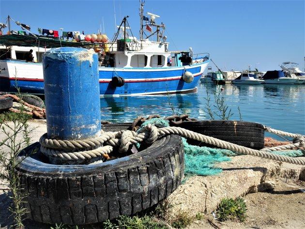 fotogenieke haven van Marsaxlokk