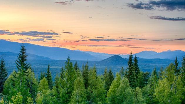 Magnifiek uitzicht vanaf Green Mountain