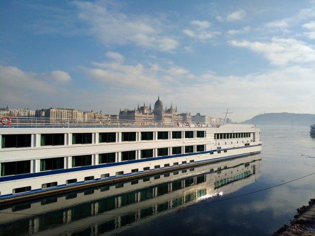 Slapen op de Donau