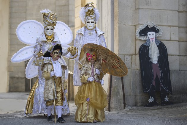 venetiaans carnaval in Verdun