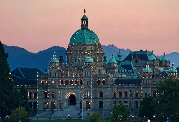 Parlementsgebouw - Vancouver Island