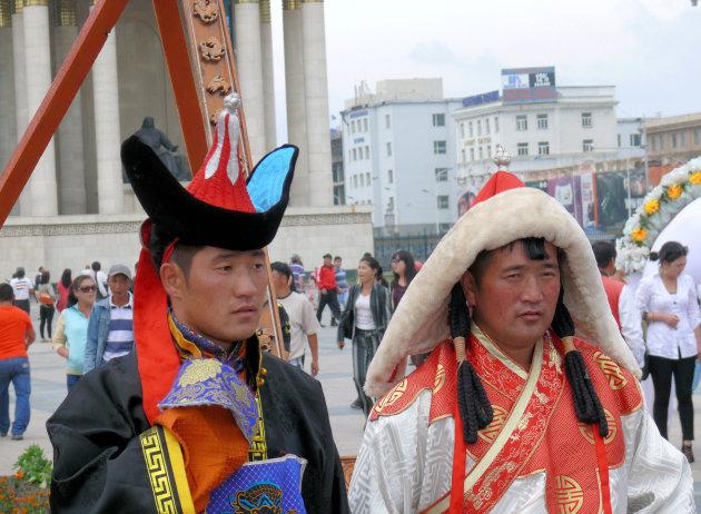 Feest in Ulaanbaatar
