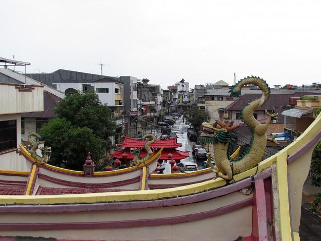 uitzicht vanaf de tempel