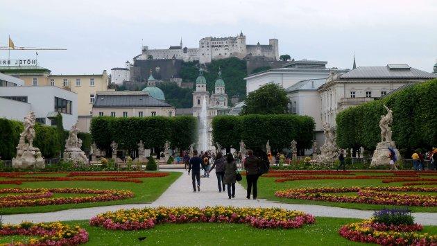 Burcht van Salzburg