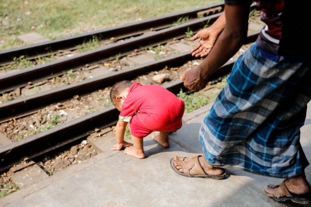 Spelen op het spoor