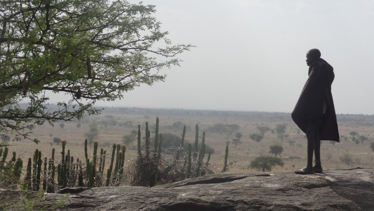 Onontdekt Oeganda: The sliding rock in de Karamojong