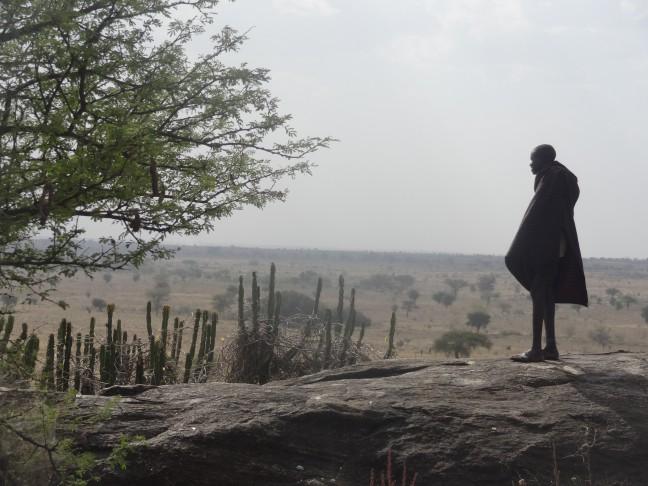 Onontdekt Oeganda: The sliding rock in de Karamojong