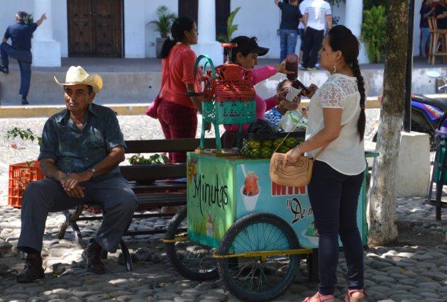 straatbeeld Suchitoto
