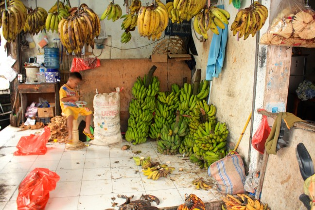 Bananen te koop!