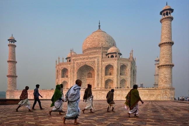 De Taj Mahal zonder toeristen