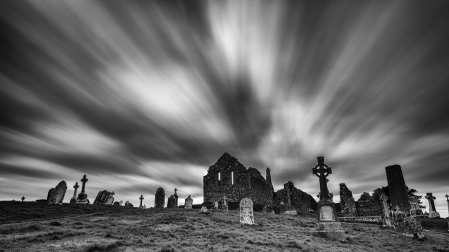 Spooky Clonmacnoise