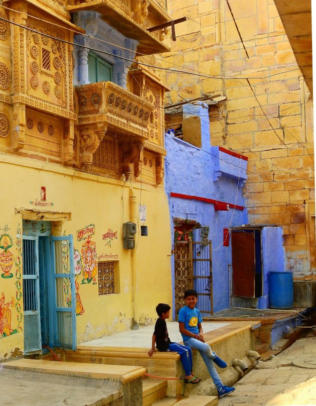 Jaisalmer city beeld.