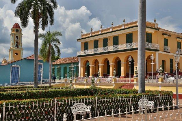 Plaza Mayor, een gezellig pleintje