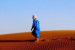Door de duinen van Merzouga