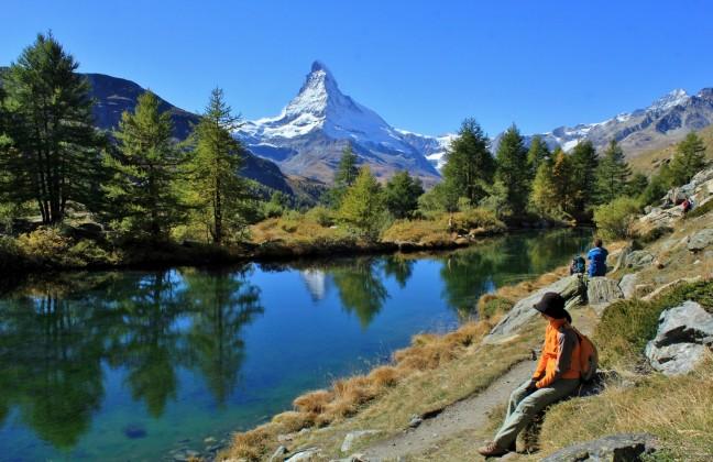 Grindjisee Matterhorn
