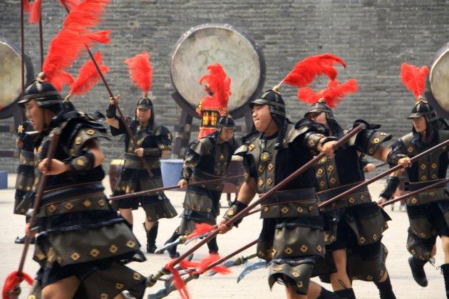 Bewakers in Xi'an