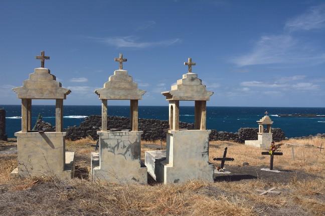 Zeemansgraven bij Ponta da Salina