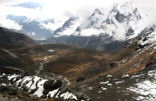 Net over Cho La pass