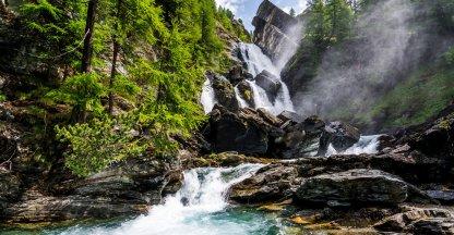 Lillaz waterfall - Gran Paradiso