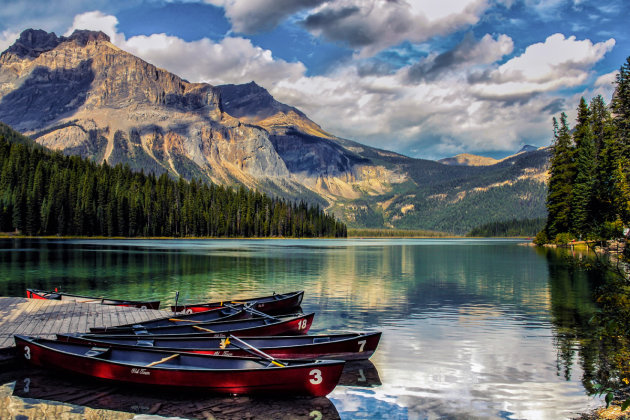 Emerald Lake (Yoho National Park, Canada)