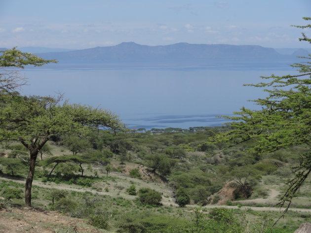 Afrika-gevoel bij Lake Shala