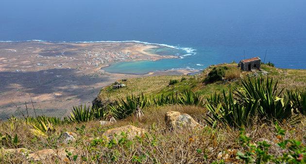 Zicht op de Baía do Norte vanaf Monte Verde