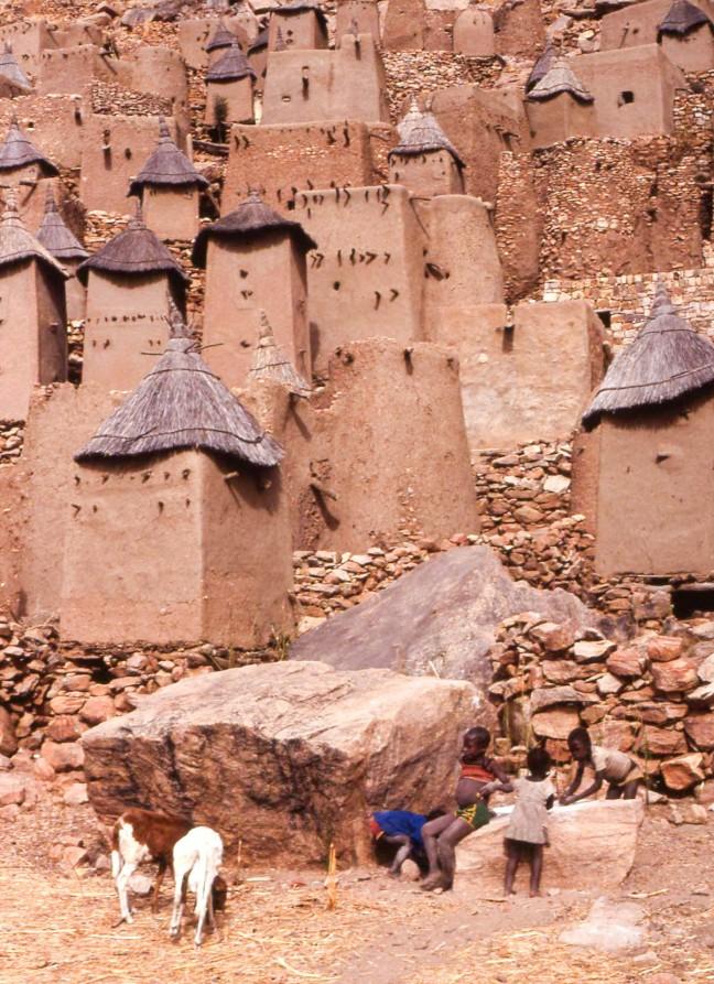 Dogon dorpje