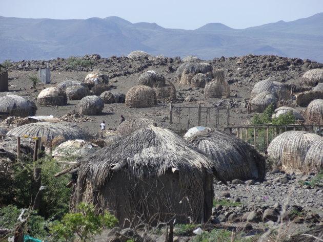 Hutten van Loiyangalani