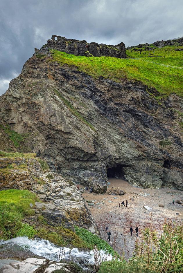 Tintagel en de grot van Merlijn