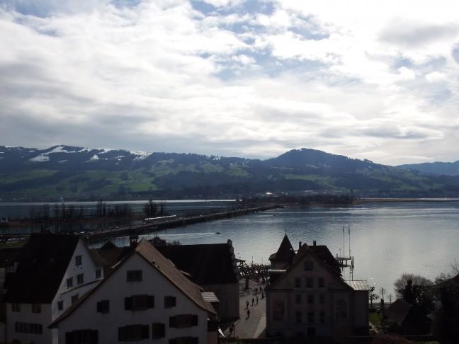Rapperswil-Jona - Zwitserland - uitzicht vanaf Schloss Rapperswil