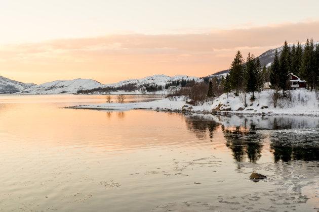 Op de weg naar Grillefjord...