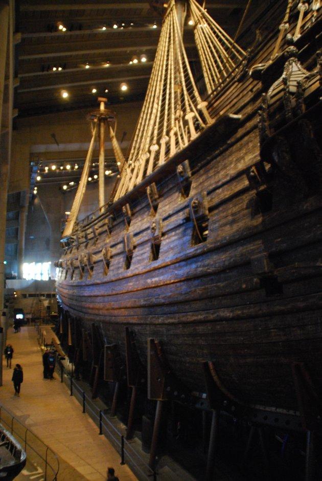 Het Vasamuseum in Stockholm