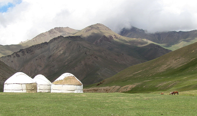 yurts