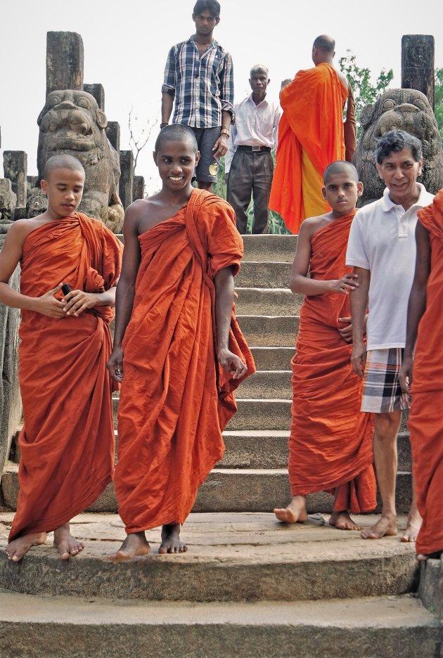 pelgrims Polonnaruwa
