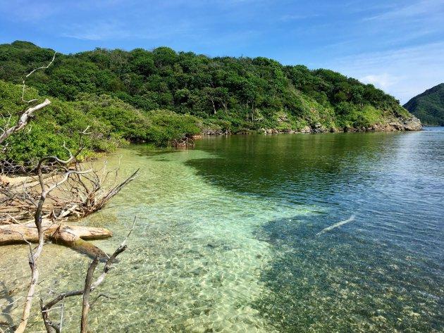 Tayrona park Chengue lagoon