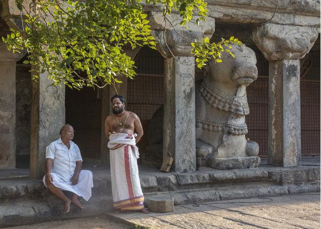 Nandi and the two Brahmins