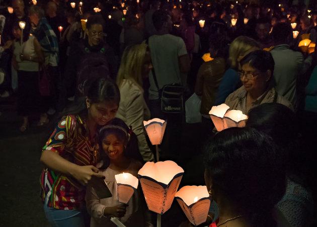 Lichtjes in Lourdes