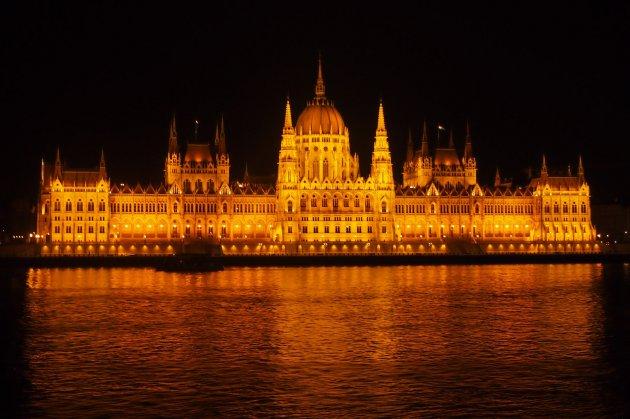 Parlementsgebouw aan de Donau