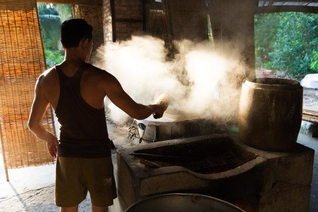 Noodles in de maak